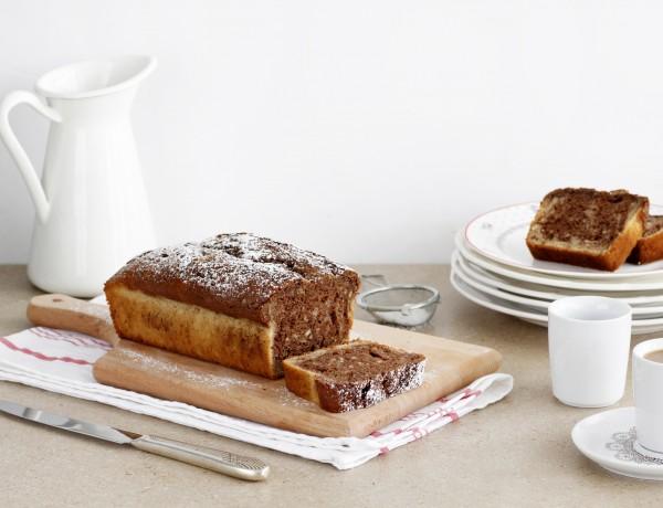 עוגת שיש שוקולד וקינמון