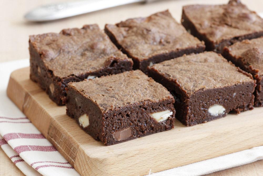 בראוניז טריפל שוקולד
