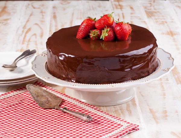 עוגת פרלין שוקולד