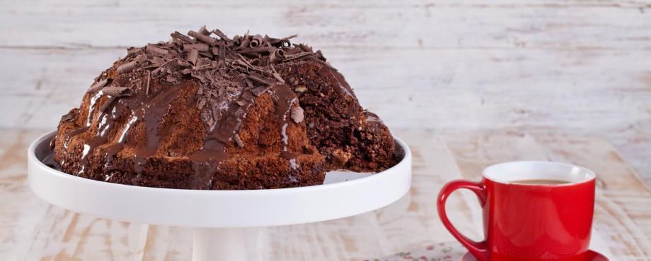 עוגת שוקולד שקדים