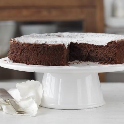 עוגת שוקולד פאדג' מושלמת לפסח