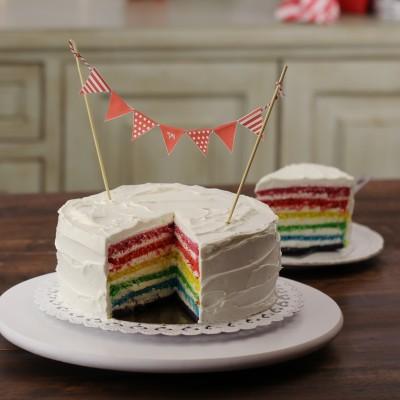 עוגת קשת בענן
