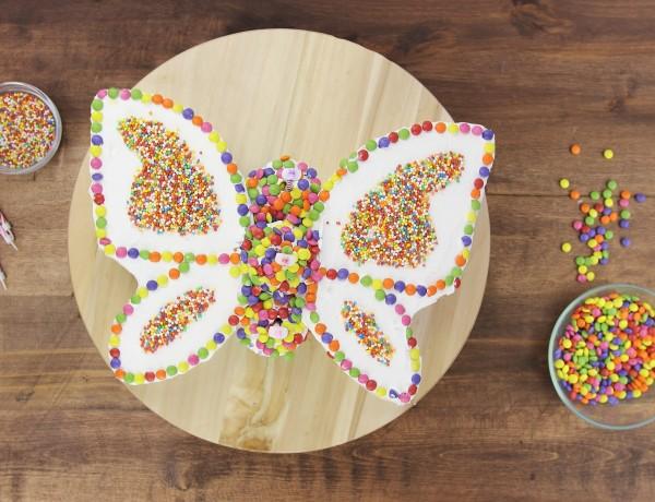 עוגת פרפר