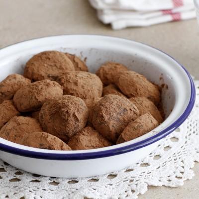 טראפלס שוקולד ודבש
