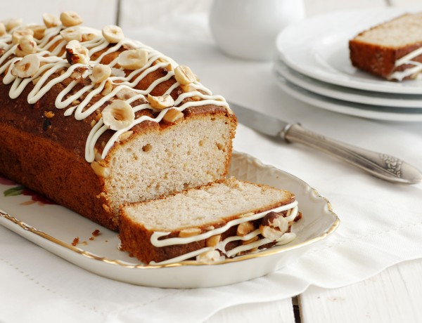 עוגת שוקולד לבן עם סילאן וקינמון