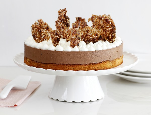 עוגת מוס שוקולד ודבש