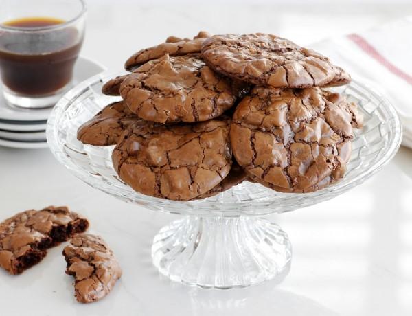 עוגיות שוקולד ואגוזים