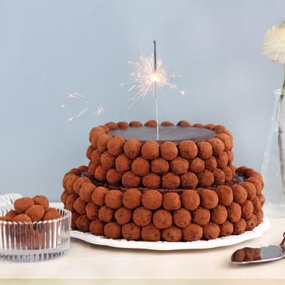 עוגת טראפלס חגיגית