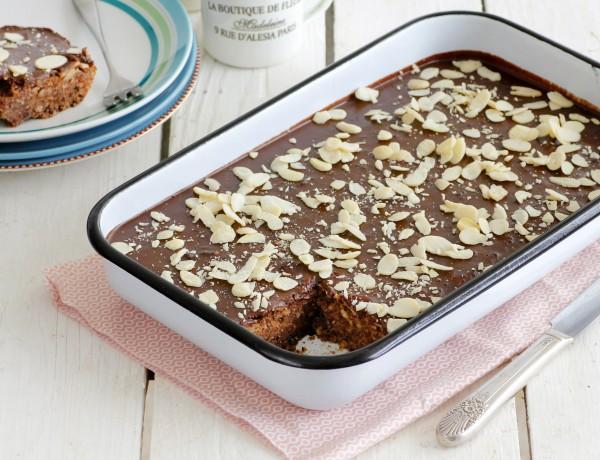 עוגת שוקולד ואגוזים ללא קמח