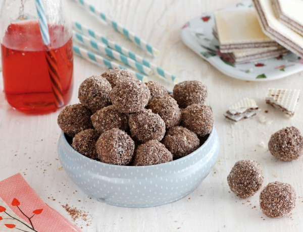 כדורי שוקולד אפיפיות