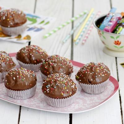 עוגות שוקולד אישיות ב-4 מצרכים