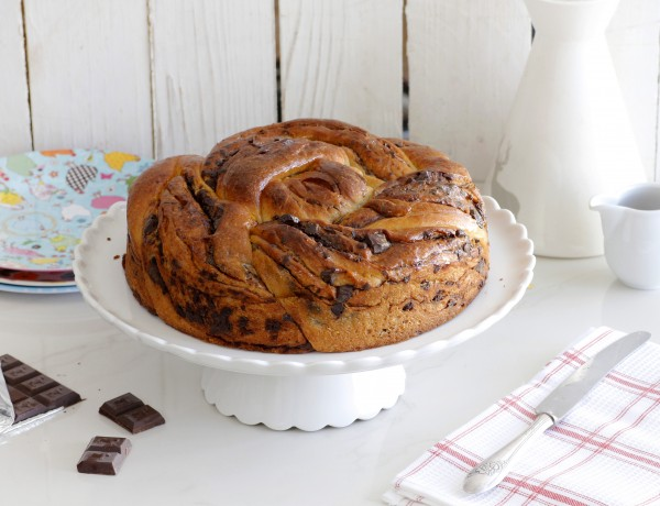 עוגת שמרים שוקולד, חלבה ומייפל