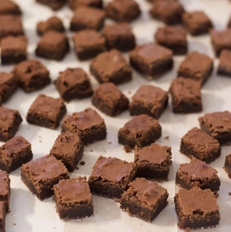 מיני בראוניז שוקולד