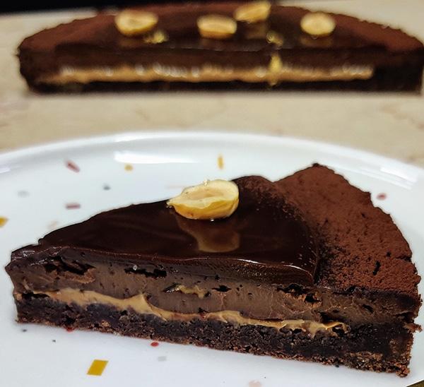 טארט טריפל שוקולד מטריף